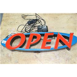 Electric Open Sign