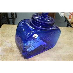 5¢ Peanut Dispenser - Cobalt Blue