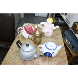 Collection of Tea Pots