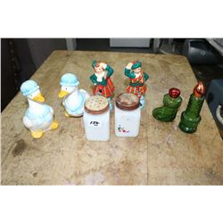 Collection of Salt & Pepper Shakers