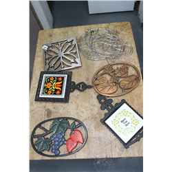 Flat of Miscellaneous Trivets