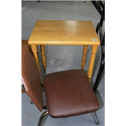 Child's Vintage Table with 1 Chair