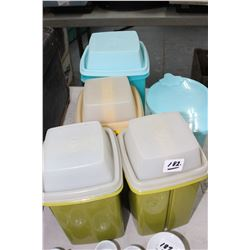 Tupperware Storage Containers (5)