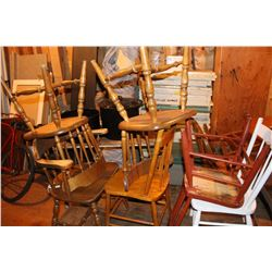 Wooden Chairs (7)