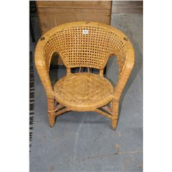 Small Weaved Chair
