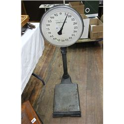 Antique Cast Chatillon Platform Scale