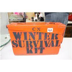 CN Winter Survival Storage Can