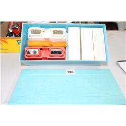 2 View Masters & Accompanying Slide Boxes