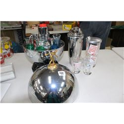 Bowling Dome Bar & Drink Mixing Items