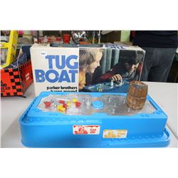"""Parker Brothers """"Tug Boat"""" Game - appears to be complete"""