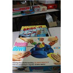 Collector Hands Down & Bridge It Games