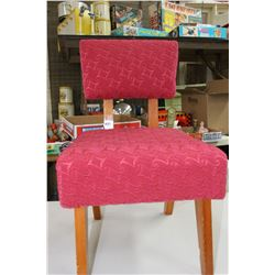 Old Child's Upholstered Chair - Awesome