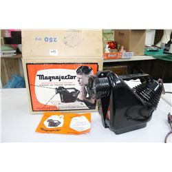 1954 Magnajector (in Plastic Case) with Instructions