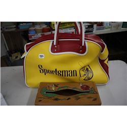 Kleenex Box Holder & a Sportsman Bag