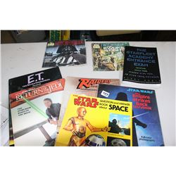 Collection of Star Wars & Other Movie Books