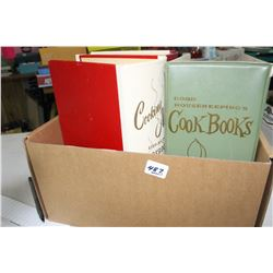 Box of Old Cook Books