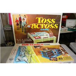 Sub Search & Toss Across Games w/Instructions