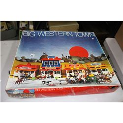Big Western Town Assembly Game