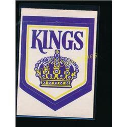 72-73 O-Pee-Chee Team Logos #8 Los Angeles Kings