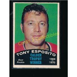 70-71 O-Pee-Chee #247 Tony Esposito Calder
