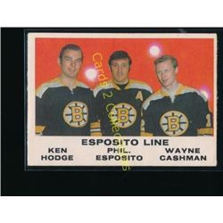 70-71 O-Pee-Chee #233 Esposito line/Wayne Cashman