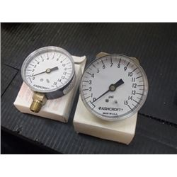0-15PSI Pressure Gauges