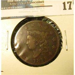 1818 U.S. Large Cent, Fine.
