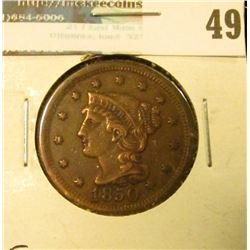 1850 U.S. Large Cent, Very Fine.