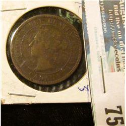 1901 Canada Large Cent, Fine.