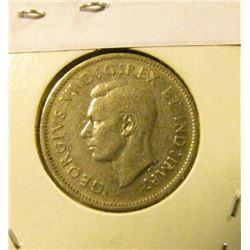 1941 Canada Nickel, slightly better grade.
