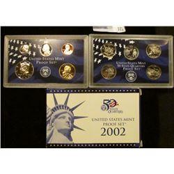 2002 S U.S. Deep Cameo Proof Set in original condition