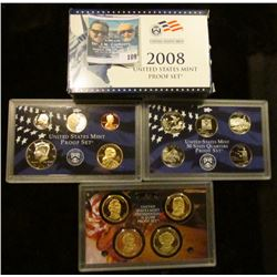 2008 S U.S. Deep Cameo Proof Set in original condition