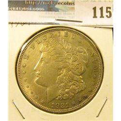 1921 P U.S. Morgan Silver Dollar. Nice grade.