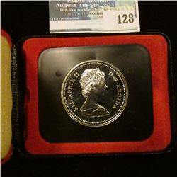 1972 Royal Canadian Mint Proof-like Silver Dollar.