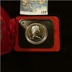 1975 Royal Canadian Mint Proof-like Silver Dollar.