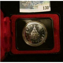 1976 Royal Canadian Mint Proof-like Silver Dollar.