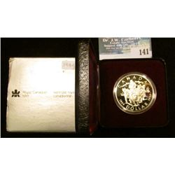 1994 Royal Canadian Mint Proof-like Sterling Silver Dollar.