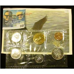 1988 Royal Canadian Mint Brilliant Uncirculated Set of Coins.