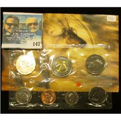 2001 Royal Canadian Mint Brilliant Uncirculated Set of Coins.