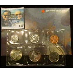 1999 Royal Canadian Mint Test Plating Set. Mintage of only 20,000.