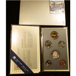 1991 Royal Canadian Mint Specimen Set.