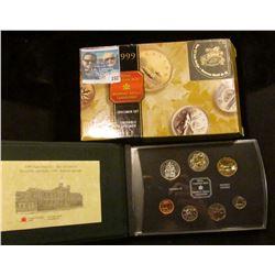 1999 (Numavut) Royal Canadian Mint Millennium Specimen Set.