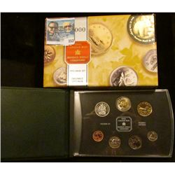 2000 (3 Bears) Royal Canadian Mint Millennium Specimen Set.