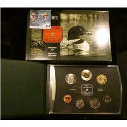 2002 Royal Canadian Mint (Family of Loons) Specimen Set.