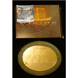 "1999 ""The Viking and Vinland Voyages"" Canada $5, Norwegian 20 Kroner."