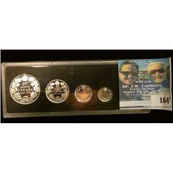 1908-1998 Royal Canadian Mint 90th Anniversary Proof Sterling Silver Coin Set, missing Cent.