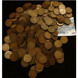 (300) Mixed Canada Cents dating 1937-1952.