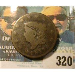 1817 13 Stars variety U.S. Large Cent. Nice grade.