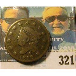 1818 U.S. Large Cent.VG.