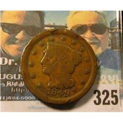 1849 U.S. Large Cent